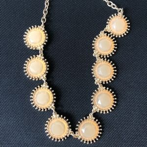 Francesca's Collections Jewelry - Peach Gem Necklace